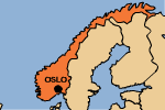 map: Norway